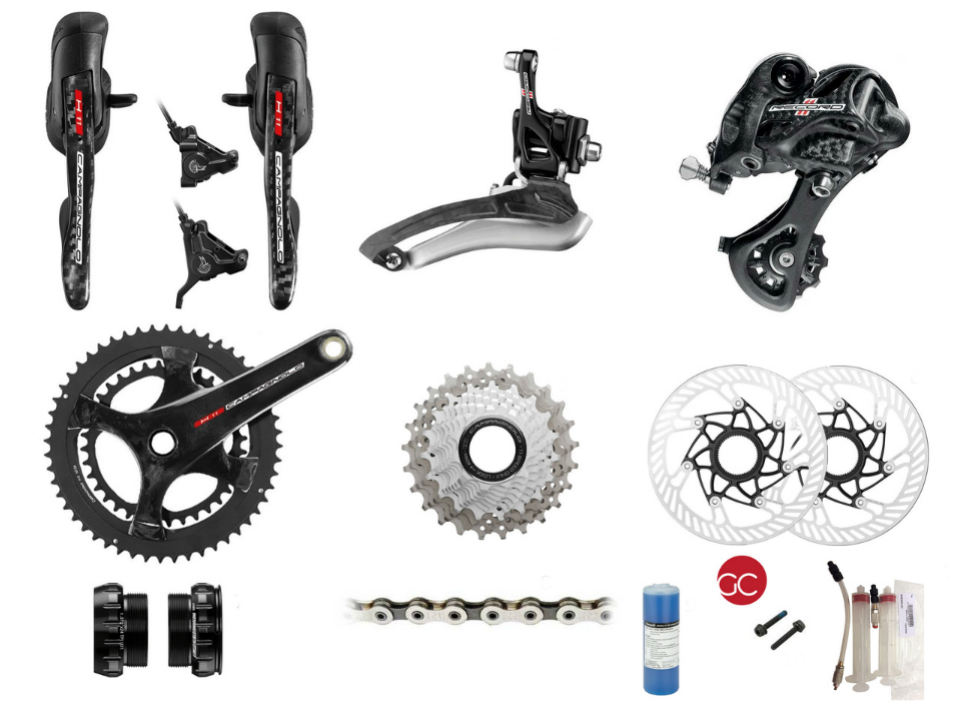 Campagnolo Disc Brake Groupsets