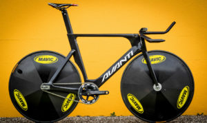 Speed racing bike.