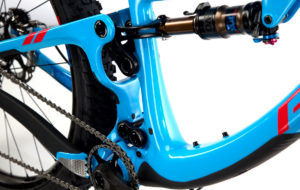 Bike with 1X chainring