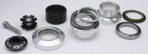 Bicycle headset parts.