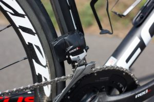 SRAM shifter on a bike
