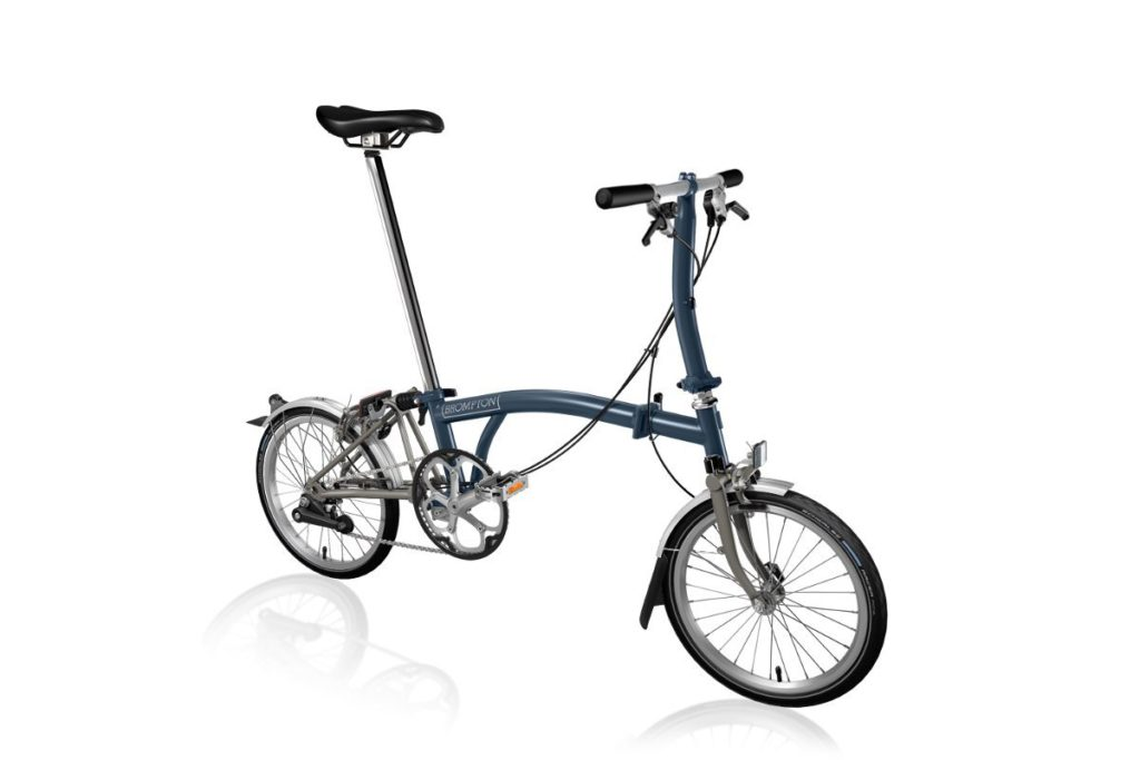 Brompton S2L Superlight - Folding bike