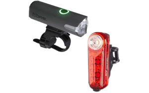 Cateye Sync Set Core and Kinetic Front and Rearset Lights