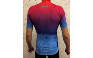 Lusso Fade Jersey Pink/Blue.