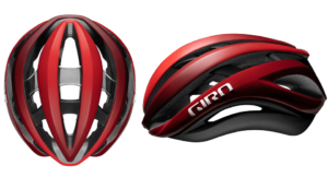Red Giro Aether MIPS Road Helmet.