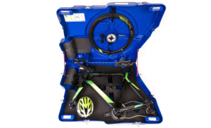 Bike deposited in a Bike Box Alan – Triathlon Aero Easyfit