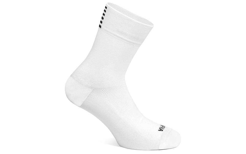 White Rapha Pro Team sock