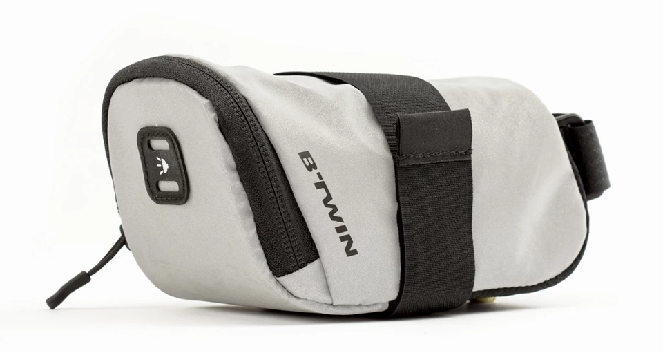B'TWIN 500 Reflective saddle bag